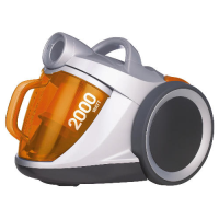 Electrolux ZSH732 2kW Bagless Cylinder Vacuum Cleaner In A Silver And Orange Finish