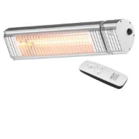 Heat Outdoors 901421 1.5kW Shadow XT Bluetooth Controlled Ultra Low Glare Patio Heater