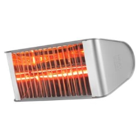 Heat Outdoors 901606 2.4kW Shadow Fatboy Ultra Heat Patio Heater In Silver