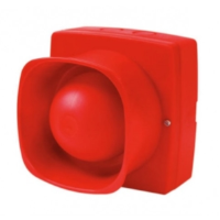 Fike 302-0004 Twinflex Hi-Point IP55 Stand Alone Industrial Horn Sounder In Red 95dBA