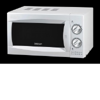 Igenix IG2980 20 Litre Manual Microwave In White With A Stainless Steel Interior
