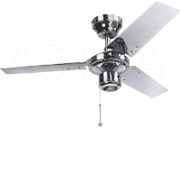 "Global 36"" Kroma Ceiling Fan In Chrome"