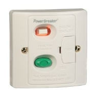 Powerbreaker H92WP-C 13 Amp, 30mA White RCD Fused Spur Unit