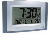 Acctim 74057 Stratus Radio Controlled LCD Wall Clock