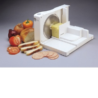 Kenwood SL250 100 Watt Food Slicer In White With Removable Stainless Steel Blade