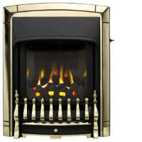 Valor 0596311 Dream Slimline Homeflame Gas Fire In A Pale Gold Colour
