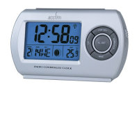 Acctim 71117 Denio Radio Controlled Alarm Clock