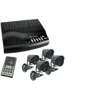 Byron CCD4Q CCD Quad Camera Kit With Multiplexer