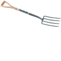 Draper 89089 Carbon Steel Garden Fork With An Ash Handle