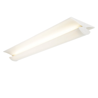 Saxby Lighting 13755 Glide 5' 2x35w T5 High Frequency Fluorescent Ceiling Light