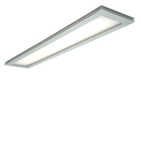 Saxby Lighting 42323 Hova 2x49w T5 High Frequency Fluorescent Ceiling Light