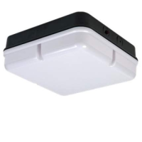 Black/Opal IP65 High Frequency Emergency Version Square 28w 2D Bulkhead Light