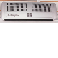 Dimplex AC3RN 3kW Over Door Heater With Remote Control