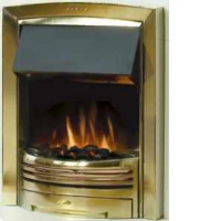 Dimplex ADG20BR Adagio Optiflame Effect Inset Fire In A Brass Finish