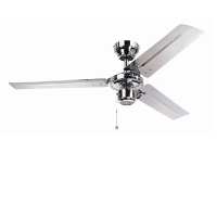 "Global 48"" Kroma Ceiling Fan In Chrome"