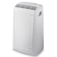 DeLonghi PAC N87 Silent Pinguino 9,800 BTU Air To Air Portable Air Conditioner