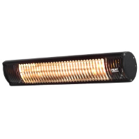 Heat Outdoors 901374 Shadow 2.0kW Ultra Low Glare Patio Heater In Black