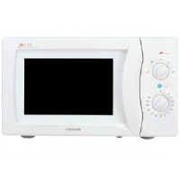 Daewoo KOR6N35S 20 Litre Manual Microwave In White With A Stainless Steel Interior