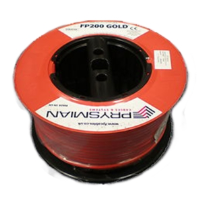 Prysmian FP200 1.5mm 2 Core & Earth Fire Resistant Cable In Red (100m Drum)