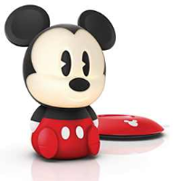 Philips 717093026 Softpal Mickey Mouse Portable Nightlight