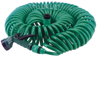 76788 10 Metre Recoil Hose With Spray Gun And Tap Connector