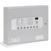 Kentec KL11040M2 Sigma CP 4 Zone Conventional Fire Alarm Control Panel With LCMU Included