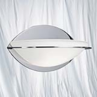 Searchlight 2316CC Chrome Oval Wall Washer