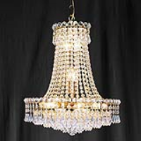 Searchlight 185-21 Bohemia Gold Plated/Crystal