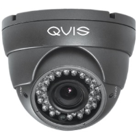 QVIS Q-EYE-VFG 4 In 1 1080P Varifocal Day And Night Eyeball Dome Camera In Grey