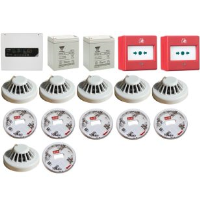 Eaton BiWire Flexi 4 Zone Two Wire And Conventional Fire Alarm Kit