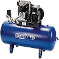 09534 150 Litre 230V Belt-Driven Stationary Low Amp Air Compressor