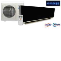 KFR-26YW/X1CM 9000BTU (2.7kW) Black Gloss Inverter Single Wall Split Air Conditioning Unit
