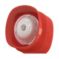 Eaton EF009SB BiWire Ultra Fire Alarm Wall Sounder And VAD Beacon