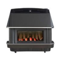 Valor 0547401 Valentia Balanced Flue Gas Fire In Black