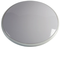 Decorative 38w 2D High Frequency Slimline Wall Bulkhead Light Or Ceiling Light In White/Opal