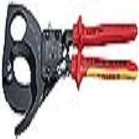 Knipex 57677 Fully Insulated Ratchet Action Cable Cutter 250mm