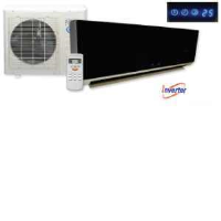 KFR-56YW/X1CM 18000BTU (5kW) Black Gloss Inverter Single Wall Split Air Conditioning Unit