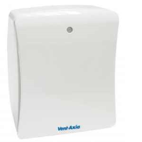 Vent Axia 427479 Solo Plus HT Centrifugal Bathroom Fan With Humidistat And Timer