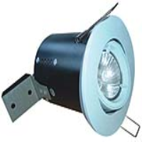 White Low Voltage Adjustable Fire Rated Downlight
