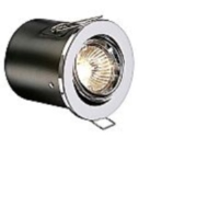 Polished Chrome Low Voltage Adjustable Fire Rated Downlight