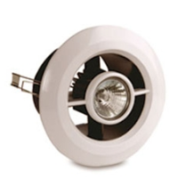 Vent Axia 432505B Vent-A-Light Inline Shower Fan And Light Kit With Timer
