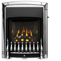 Valor 0596321 Dream Slimline Homeflame Gas Fire In A Chrome Finish