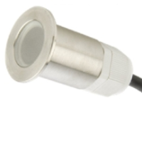 GLO18W IP67 0.5W Led Fitting In White