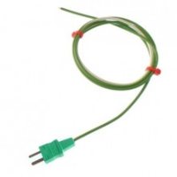 Exposed Junction Thermocouple Type K 1 0 376Mm Single Shot Ptfe With Moulded On Miniature Plug 3295
