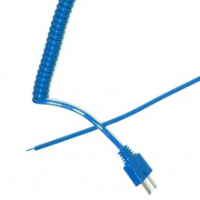 Type T Retractable Curly Thermocouple Lead Ansi 1073