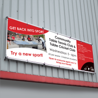 Wall Mounted Banner Frames