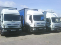Tail Lift Newsprint Deliveries