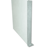 Galvanised Angled Door Post