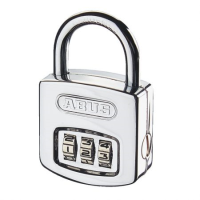 Abus 160/40C & 160/50C Brass Combination Padlock