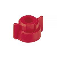 Quick Fitting Cap c/w Gasket - Red